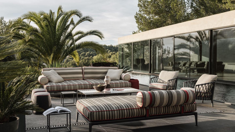hauser-design-b&b-italia-lounge-ribes-mit-chaise-longue