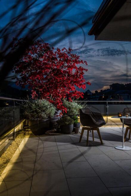 hauser-design-beleuchtete-terrasse