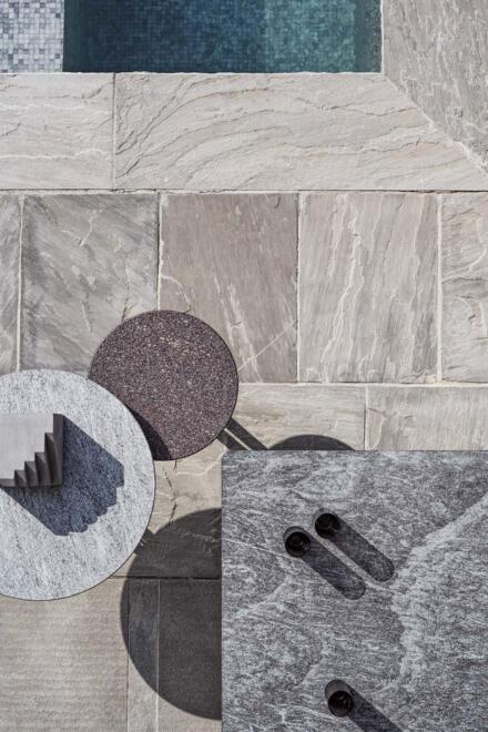 Hauser Design Flexform any day outdoor Tischkombi
