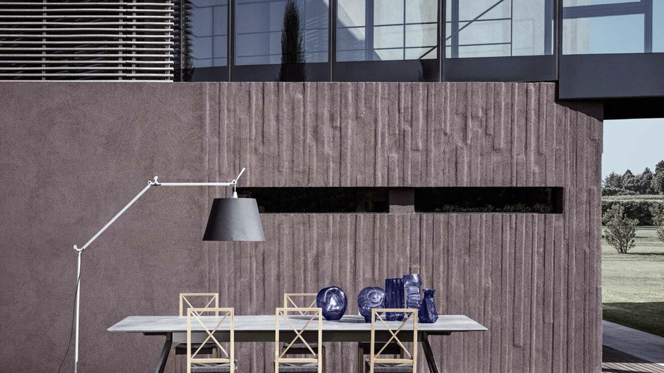 hauser-design-flexform-tisch-mit-stuehlen-und-hoher-lehne
