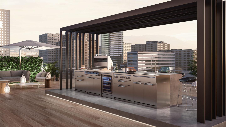 hauser-design-steel-grill-unter-pergola
