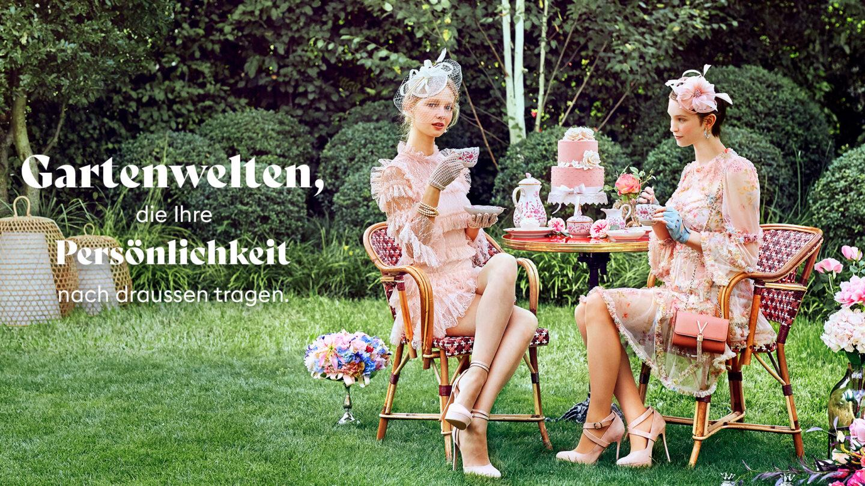 Hauser Design Frauen auf Drucker-Stühlen