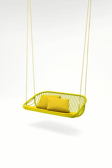 Hauser Design Paola Lenti Swing in gelb