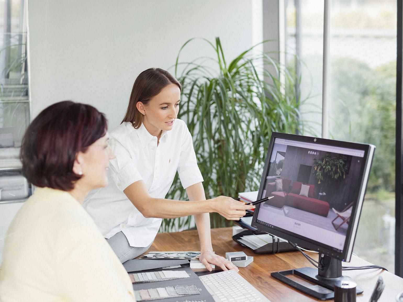 Hauser Design Sarah und Karin im Gespräch