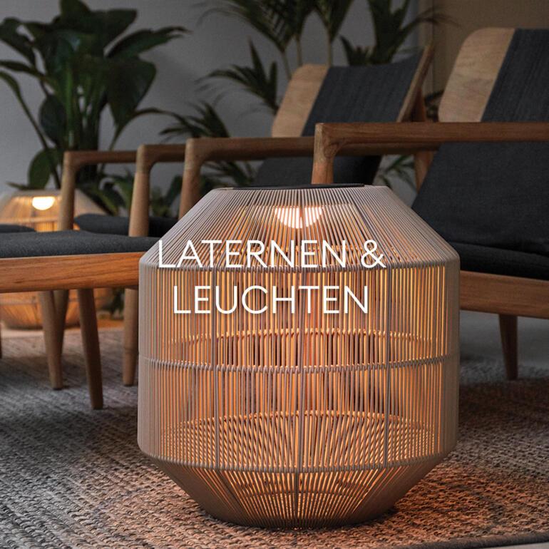 Hauser Design Sortiment Laternen und Leuchten