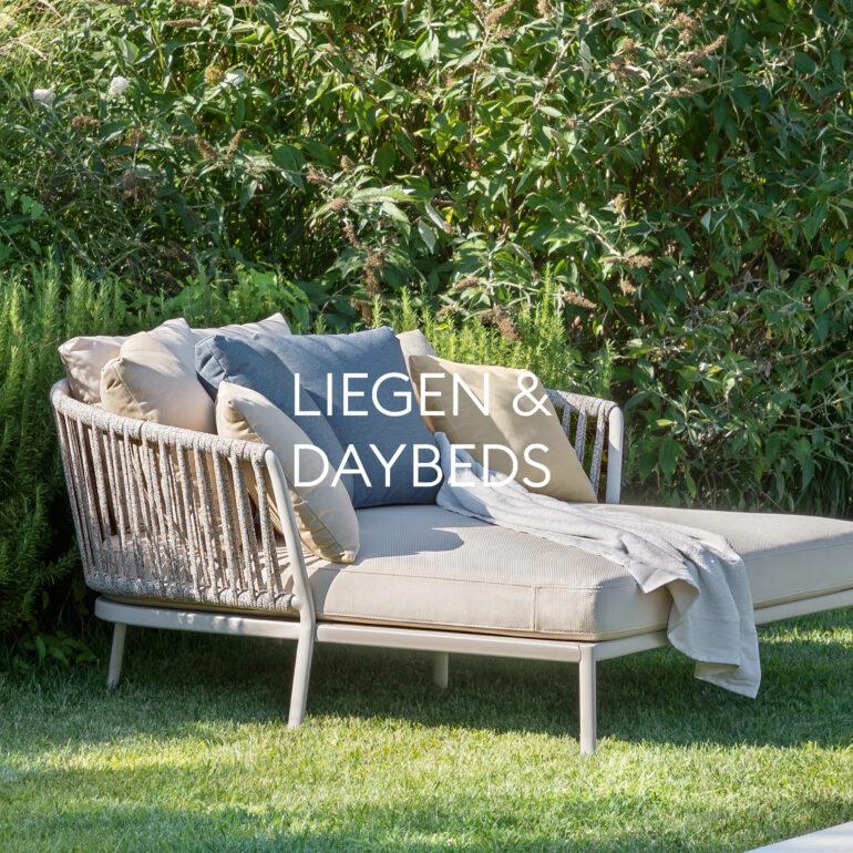 Hauser Design Sortiment Liegen und Daybeds