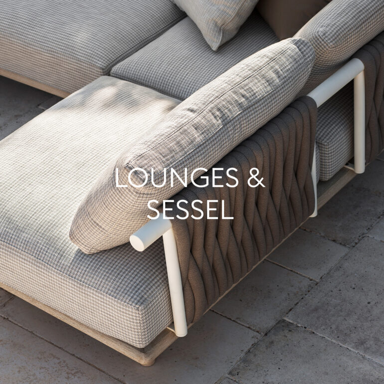 Hauser Design Sortiment Lounges und Sessel