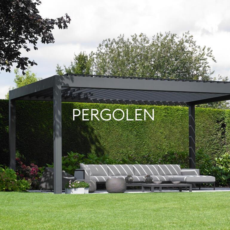 Hauser Design Sortiment Pergolen