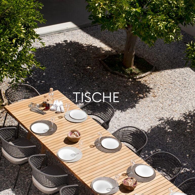 Hauser Design Sortiment Tische