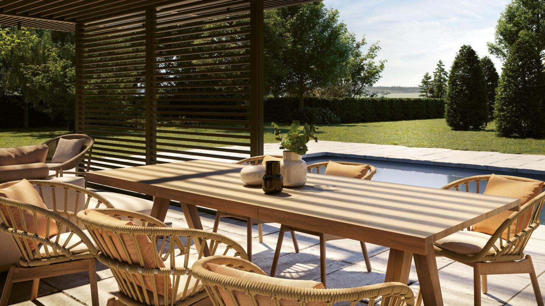hauser-design-kettal-h-pavillon-mit-vimini-stühlen